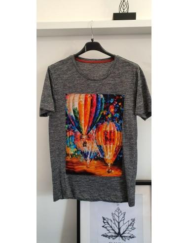 T-shirt mongolfiere