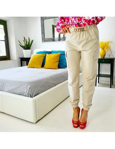Pantalone catena oro