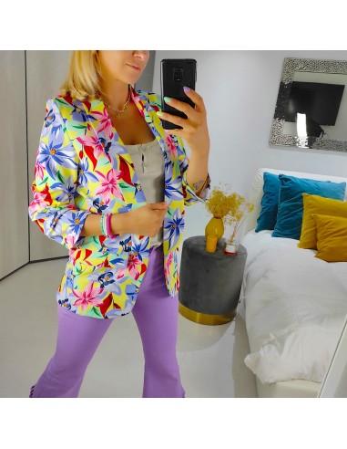 Giacca multicolor
