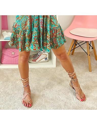 Sandalo oro rosa